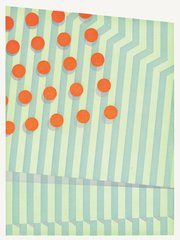 Untitled (small circles), by Tomma Abts