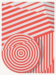 Untitled (big circle), by Tomma Abts