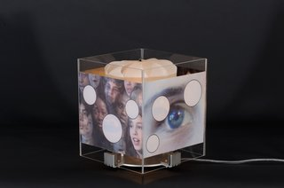 The Revolving Lamp, by Tony Oursler