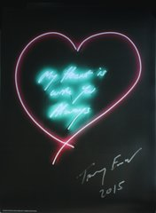 My Heart Is With You Always, by Tracey Emin