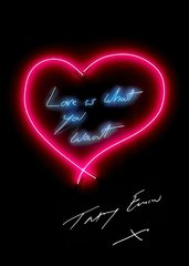 Love Is What You Want, by Tracey Emin