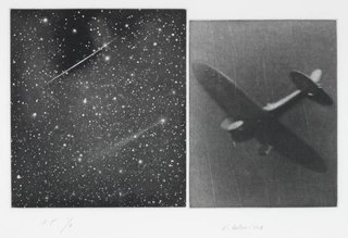Concentric Bearings B, by Vija Celmins