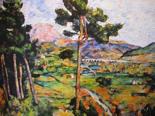 Montagne Sainte-Victoire, Seen from Montbriand, After Cézanne (from Pictures of Pigment series), by Vik Muniz