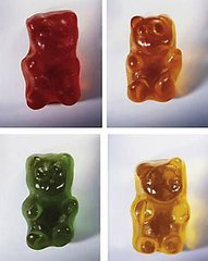 Gummy Bears, by Vik Muniz