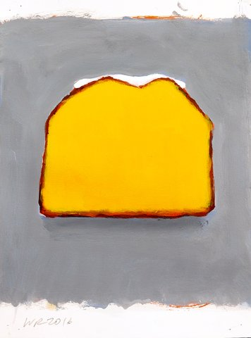 Walter Robinson - Iced Lemon Pound Cake, Work on Paper