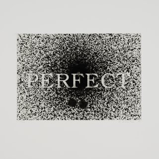 Perfect (black and white) art for sale