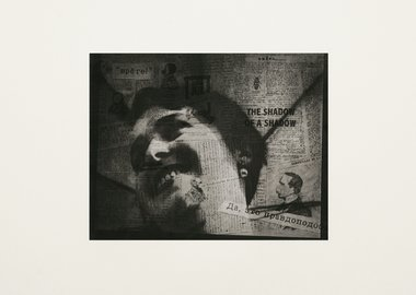 William Kentridge - Projection - Lady's Face