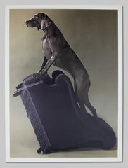 Armed Chair, by William Wegman