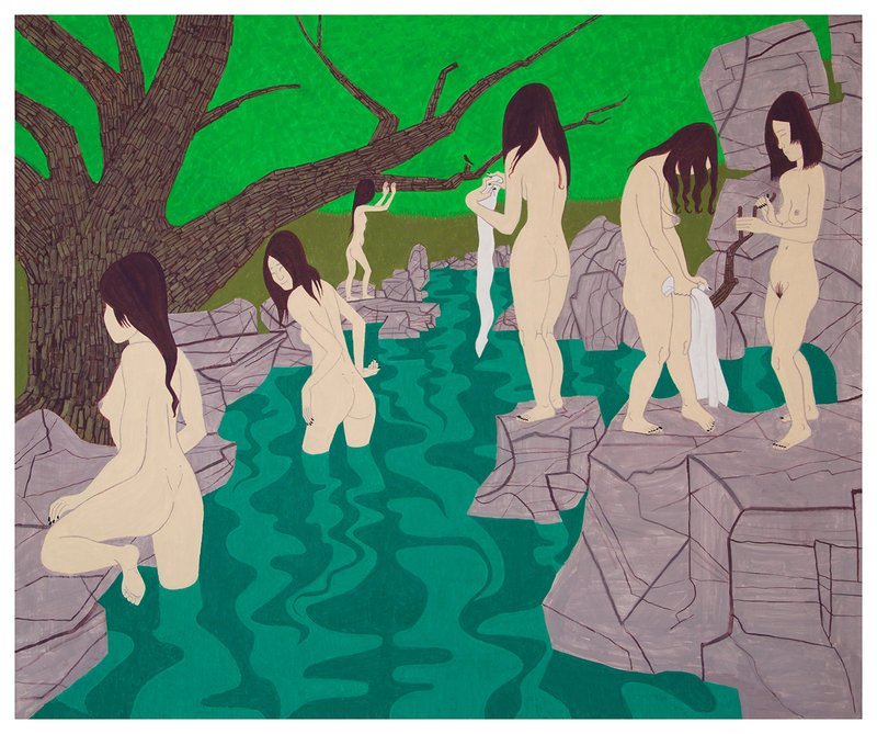 Yves Tessier, Ghost Bathers 2