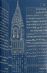 Chrysler Building, St. II, by Yvonne Jacquette