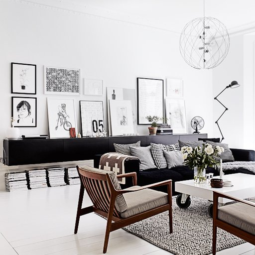 Looking to Keep It Simple? Here's Art for the Perfect Minimalist Living Room