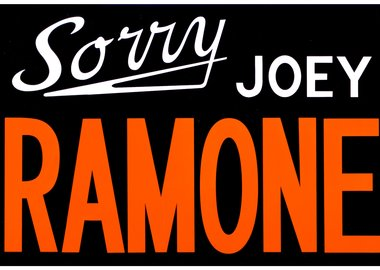 Adam McEwen - Sorry, Joey Ramone