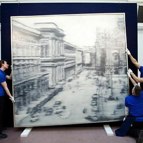 Richter Sets Yet Another New Record at Sotheby's Solid Contemporary Art Sale