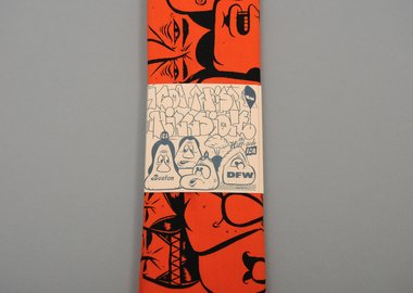 Barry McGee - Bandana: Orange Faces
