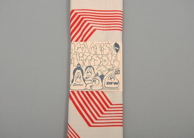 Barry McGee - Bandana: Red Lines