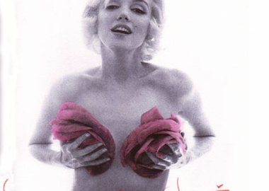 Bert Stern - Marilyn Monroe with Purple Roses
