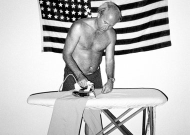 Chico Aragao - James Rosenquist Ironing His Trousers