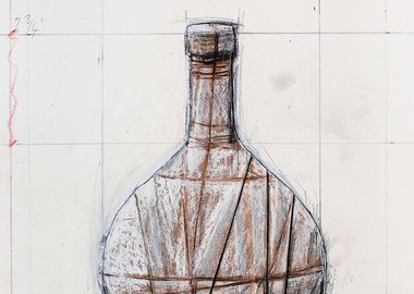 Christo  - Wrapped Bottle
