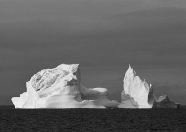 Cyril Christo and Marie Wilkinson - Iceberg Disco Bay, Greenland