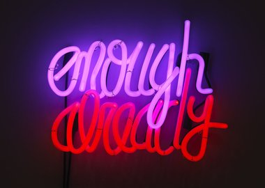 Deborah Kass - Enough Already