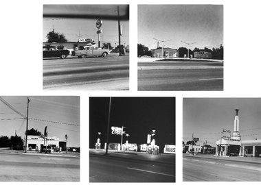 Ed Ruscha - Five views from the Panhandle