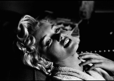 Elliott Erwitt - New York. American actress Marilyn MONROE. 1956.