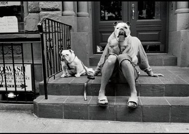 Elliott Erwitt - New York City. 2000.