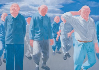 Fang Lijun - Series 2, No.4, 1992
