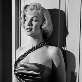 "Marilyn Monroe Against wall on Set of ""How to Marry a Millionaire"" art for sale"