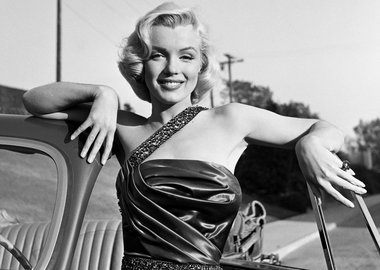 "Frank Worth - Marilyn Monroe Classic Portrait Set of ""How to Marry a Millionaire"""