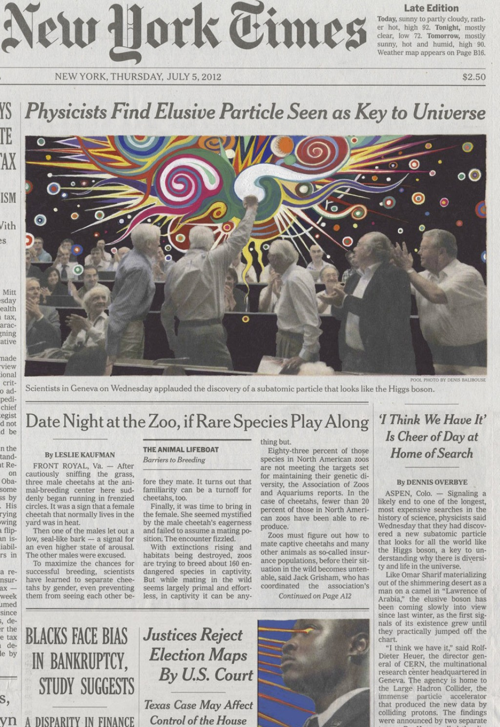 Fred Tomaselli, July 5, 2012