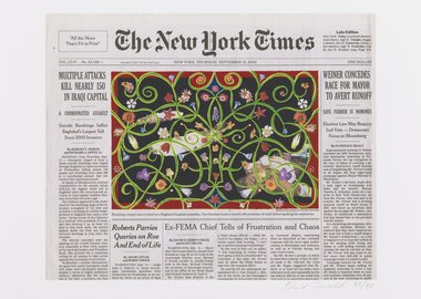 Fred Tomaselli - Sept. 15, 2005