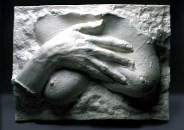 George Segal - Hand on Breast