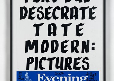 Gilbert & George - Perv Duo Desecrate Tate Modern: Pictures