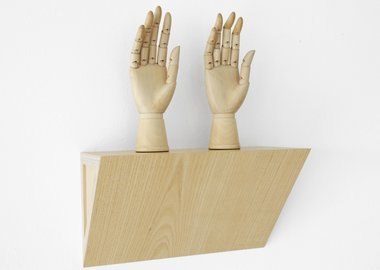 Haim Steinbach - Untitled (female mannequin right hands)
