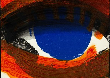 Howard Hodgkin - Eye