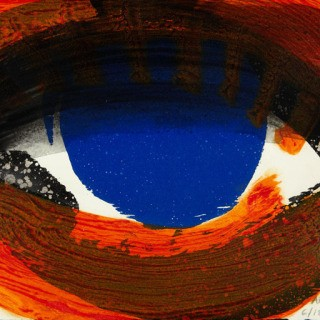 Howard Hodgkin, Eye
