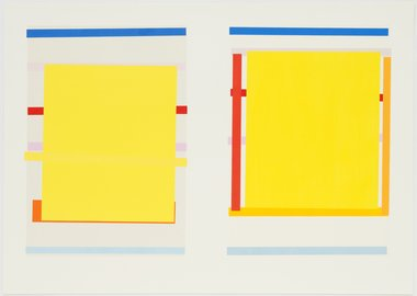 Imi Knoebel - Untitled #1 (Diptych)