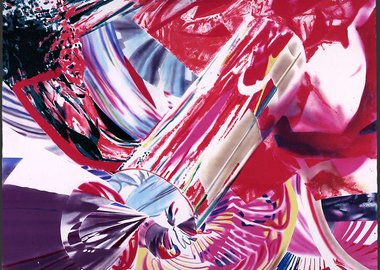 James Rosenquist - Hitchhiker