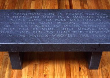 Jenny Holzer - An Opposition Man