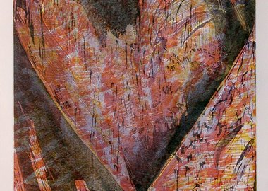 Jim Dine - Untitled (Heart of BAM)
