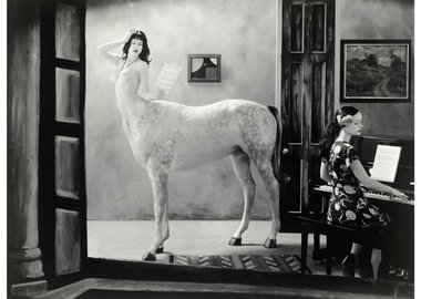Joel-Peter Witkin - Night in a Small Town, 2007