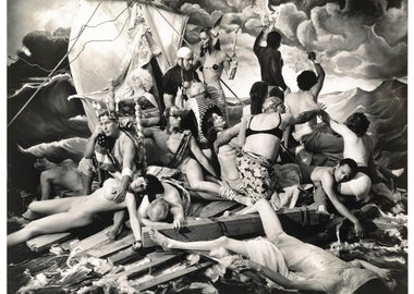 Joel-Peter Witkin - The Raft of George W. Bush, 2006