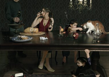 Julie Blackmon - Dinner Party