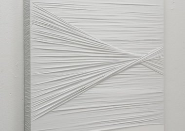 Justin Beal - Untitled (White Knot)