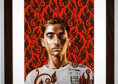 Kehinde Wiley - Flame Gyasar
