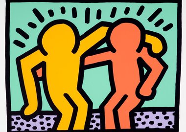 Keith Haring - Best Buddies
