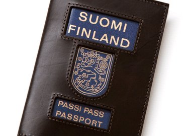 Lawrence Weiner - Suomi Finland Passi Port Passport