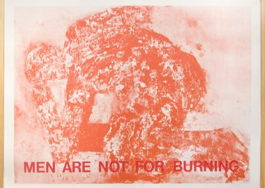 Leon Golub - MEN ARE NOT FOR BURNING