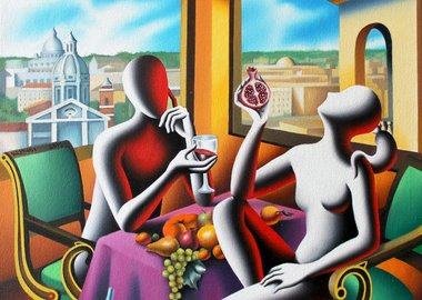 Mark Kostabi - The Naked Lunch